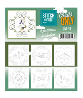 Stitch & Cards only set 41