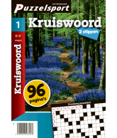 Puzzelmagazine Kruiswoord 2 stippen nr.1