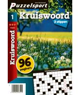 Puzzelmagazine Kruiswoord 3 stippen nr.1