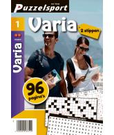 Puzzelmagazine Varia 2 stippen nr.1