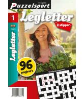 Puzzelmagazine Legletter 2 stippen nr.1