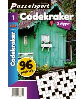 Puzzelmagazine Codekraker 3 stippen nr.1