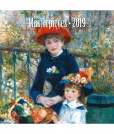 Kalender 30x30 2019 Masterpieces