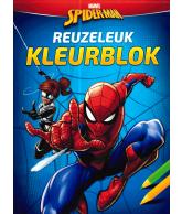 Reuzeleuk kleurblok Spider-man