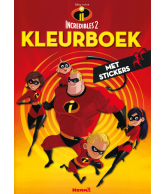 Incredibles 2 kleurboek