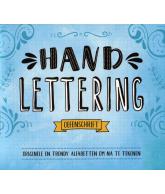 Handlettering oefenschrift