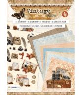 A4 Stansblok 04 Vintage Line