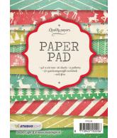 A6 paper pad blok 96 kerst 36 vel 12 designs 200gr