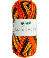 Cotton home 03 oranje bruin 50gr