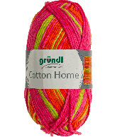 Cotton home 05 roze lime oranje 50gr