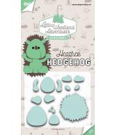 Joy snijmal heather hedgehog (egel) dedennis sept/18