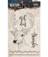 WINTER TRAILS STEMPEL A6 NR 302 RENDIER