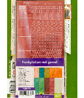 HD227 hobbydotten met gevoel inclusief stickers