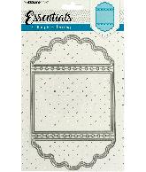 Snijmal essentials ticketmal nr115 2 schulpranden 130X207mm