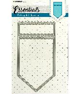 Snijmal essentials ticketmal nr117 punt kaart 106X200mm