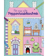 Het enige echte poppenhuiskleurboek