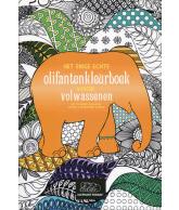 Het enige echte olifantenkleurboek voor volwassenen (Elephant Parade)
