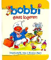 Bobbi gaat logeren kartonboek