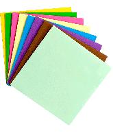 Enveloppen vierkant gekleurd 17,5x17,5cm 25 st