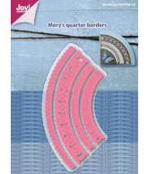 Joy snijmal Mery's kwartcirkel randen december 18