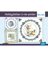 HD231 hobbydotten in de winter incl stickers Aline Smit