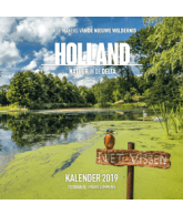 Kalender 2019 Holland natuur in de delta
