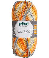 Corsica grijs blauw oranje gemeleerd