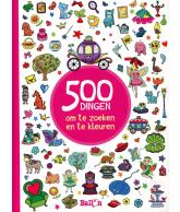 500 dingen om te zoeken en te kleuren voor meisjes
