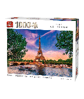 Puzzle Eiffel Tower at the Seine (City Collection) 1000 pcs