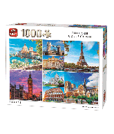 Puzzle City's (Collage Collection) 1000 pcs