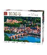 Puzzle View of Heidelberg, Germany