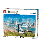 Puzzle City Skyline Rotterdam (1000 pcs)