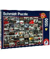 Schmidt 1500 puzzel Cityscapes