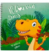 Ik hou van dino's sjabloonboek