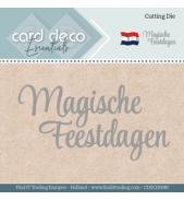 Snijmal magische feestdagen card deco essentials