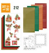 Dot & Do 212 Christmas Cottage van Jeanine's Art