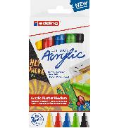 Edding acrylmarkers 5st