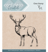 Clear stamps hert Card Deco Essentials