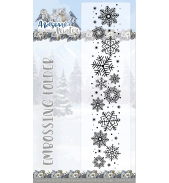 Awesome Winter Embossing folder van Amy Design