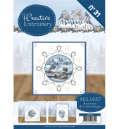 Awesome Winter borduurboek 031 van Amy Design