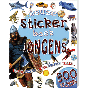 Reuze Stickerboek Jongens