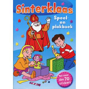 Sinterklaas speel- en plakboek