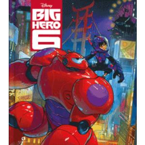 Disney lees & luisterboek Big Hero 6