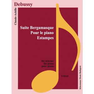 Suite Bergamasque, pour le piano, estampes