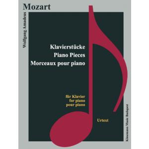 Mozart, Klavierstücke