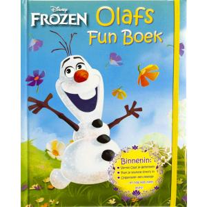 Disney Frozen Olaf's funboek