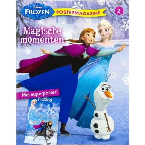 Frozen poster magazine