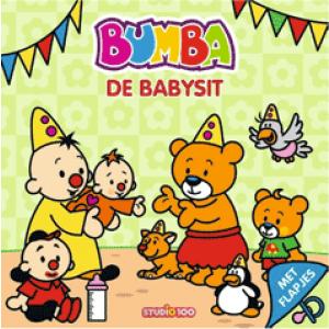 Bumba kartonboek met flapjes 0 - De babysit
