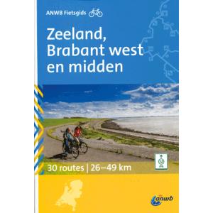 ANWB Fietsgids Zeeland, Brabant West en Midden