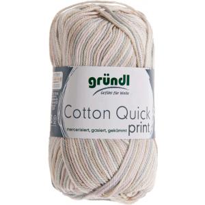 Cotton Quick Print Zand-Roze Multicolor 50 gram